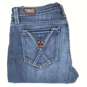 Freedom of Choice boot cut jeans, size 4